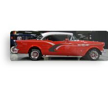 Chevy Rules Metal Print