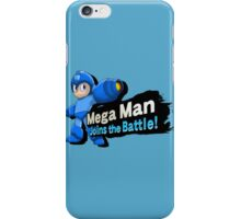 Mega Man - Joins the Battle! iPhone Case/Skin