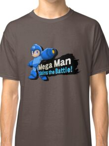 Mega Man - Joins the Battle! Classic T-Shirt