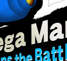 Mega Man - Joins the Battle! Sticker