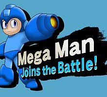 Mega Man - Joins the Battle! by JacobiWonKanobi