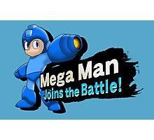 Mega Man - Joins the Battle! Photographic Print