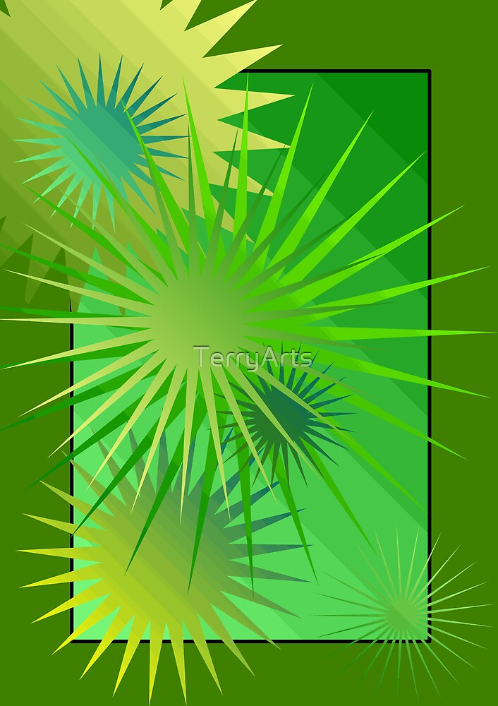 A sunny flowery burst mix by Teresa Schultz