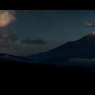 Fuji-san upon waking: Yamanashi, Japan by Alfie Goodrich