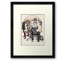 Regenerated Rockwell Framed Print