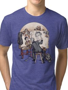 Regenerated Rockwell Tri-blend T-Shirt