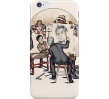 Regenerated Rockwell iPhone Case/Skin