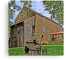Stover Mill - Erwinna Pa Canvas Print