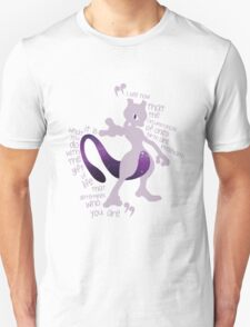 Mewtwo Quote It T-Shirt