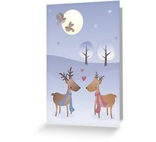 Love in Winter Greeting Card