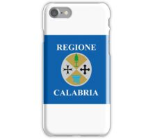 calabria flag iPhone Case/Skin