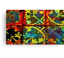 Abbey tiles Canvas Print