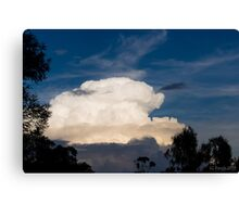 Storm Cell Cloud Canvas Print