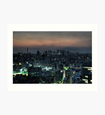 Blade Runner Tokyo Art Print
