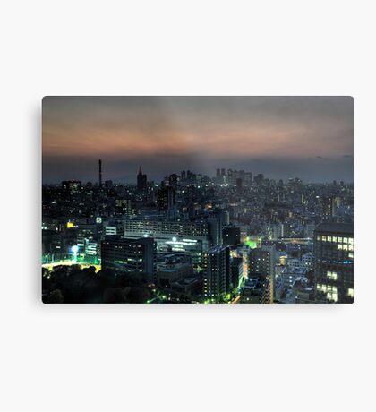 Blade Runner Tokyo Metal Print