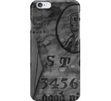 Madame Marie Laveau Ouija Board  iPhone Case/Skin