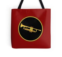 Trumpet Gold Sign Tote Bag