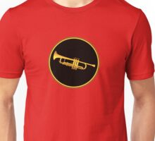 Trumpet Gold Sign Unisex T-Shirt