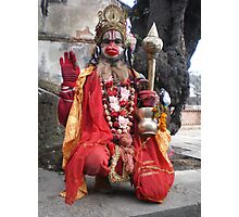Hanuman at Shivaratri Photographic Print