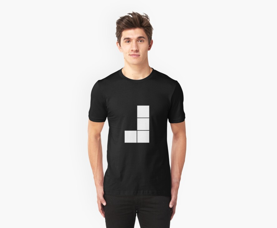 J Tetromino (the Tetris serie) by Sylvere