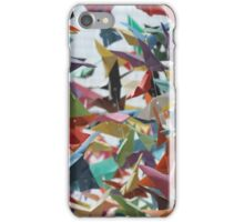 Multi-colored Origami Butterflies iPhone Case/Skin