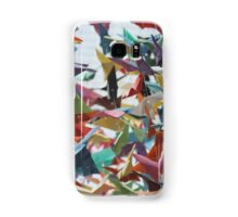 Multi-colored Origami Butterflies Samsung Galaxy Case/Skin