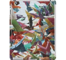 Multi-colored Origami Butterflies iPad Case/Skin