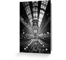 Queen Victoria Building Greeting Card