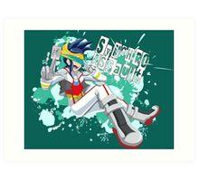 Synchro Assault  Art Print