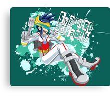 Synchro Assault  Canvas Print