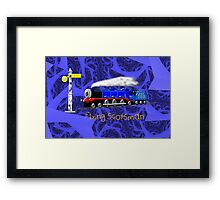 Flying Scotsman for Kids - all products except duvet Framed Print