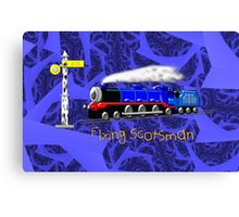 Flying Scotsman for Kids - all products except duvet Canvas Print