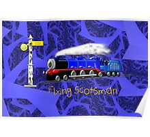 Flying Scotsman for Kids - all products except duvet Poster