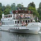 """""""Teal"""" pleasure boat by Woodie"""