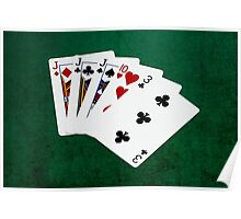 Poker Hands - Three Of A Kind - Jack Poster