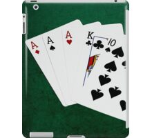 Poker Hands - Three Of A Kind - Ace iPad Case/Skin