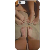 at the Beach with Friends iPhone Case/Skin