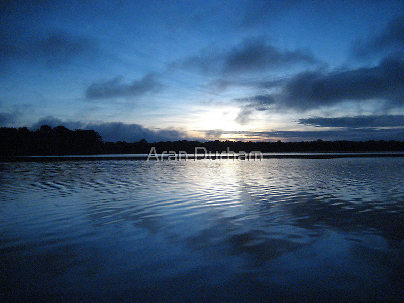 Sunrise in the Amazon by Aran Durham