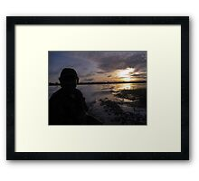 Sunrise in the Amazon Framed Print