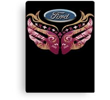 Ford Breast Cancer Canvas Print