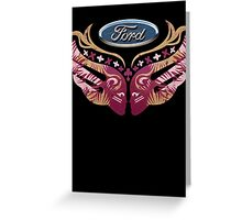 Ford Breast Cancer Greeting Card