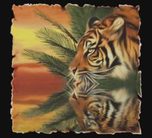 Quenching Tiger by Lisa  Weber