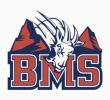 BMS Standard Logo - Goat n' Mountains T-Shirt