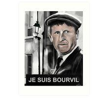 Bourvil Art Print