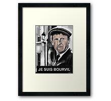 Bourvil Framed Print
