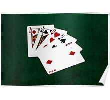 Poker Hands - One Pair - Jacks Poster