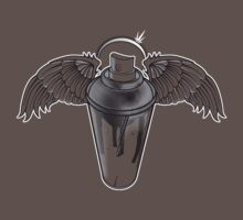 Angel Spray Baby Tee