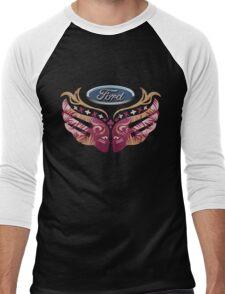Ford Breast Cancer Men's Baseball ¾ T-Shirt