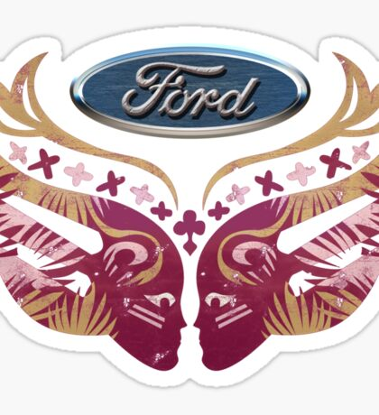 Ford Breast Cancer Sticker