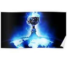 World Championship Trophy - League of Legends Poster